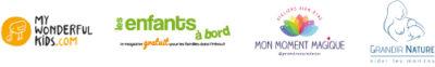 Logos des partenaires du centre de bien-être L'Ô Cocoon